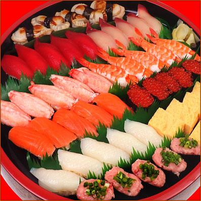納会 出前 宅配寿司