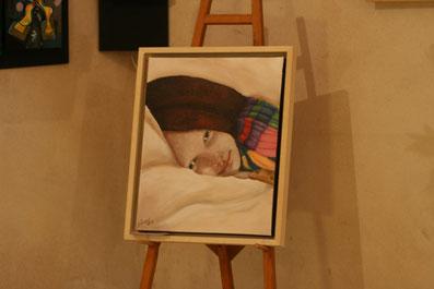 atelier de peinture Nadine Ulukaya exposition de peinture cours stage stages de peinture artiste peintre saint-quirin moselle lorraine grand est  artisanat artisan