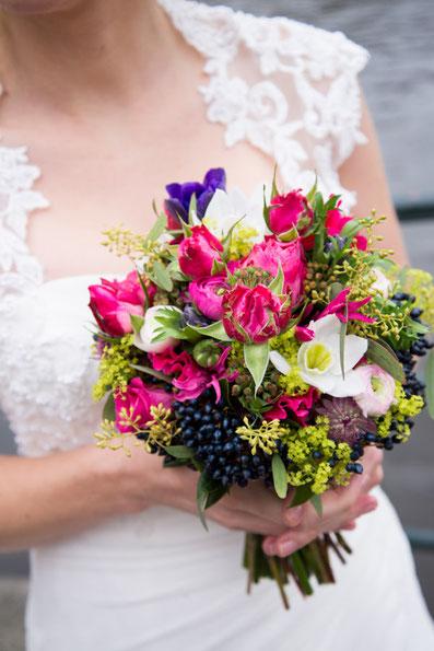 bruidsboeket, bruiloft, trouwfotograaf