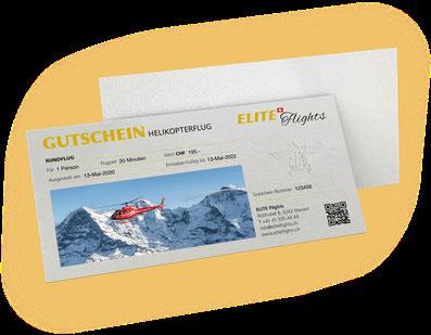 Elite Flights Gutschein Helikopterflug, Rundflug, allgemeine Rundflüge, Helikopterrundflug