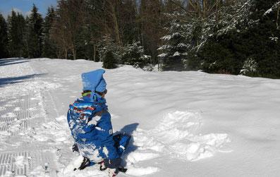 Langlaufen mit 5-jährigem Kind - ob das klappt?