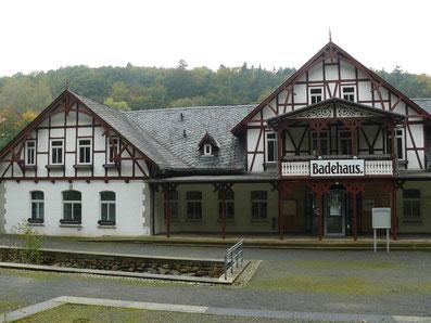Sehenswerte Kurarchitektur in Bad Suderode