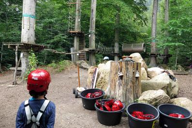 Kletterpark Ilsenburg: Familien-Fitnessstudio im Grünen