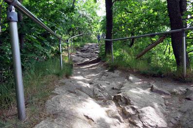 Rosstrappe in Thale - eines der schönsten Wanderziele im Harz