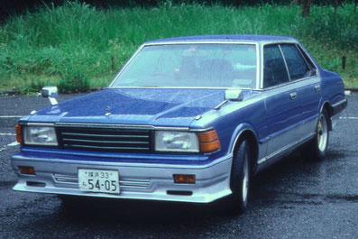 旧車カスタムペイント、430セドリック