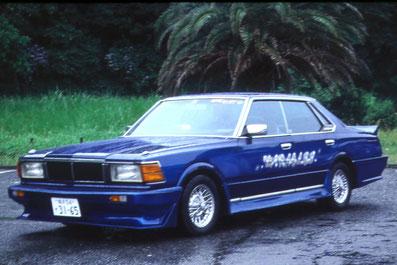 旧車カスタムペイント、日産セドリック430