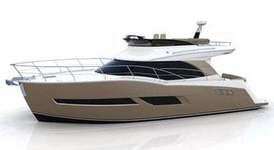 Carver C40 Boat