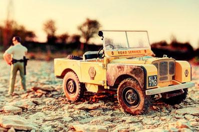 Spielzeugauto fotografiert von Stephan Garçon