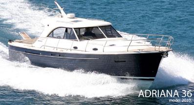 Adriana 36 ASTA Yachting Yachtcharter Motoryacht Motorboot Zadar,  Sukosan, Marina Dalmacija
