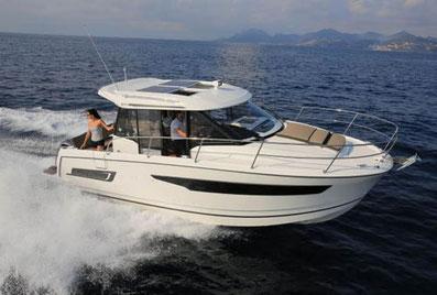 Jeanneau Merry Fisher 795 ORVAS Yachting Yachtcharter Motoryacht Motorboot Split ACI Marina