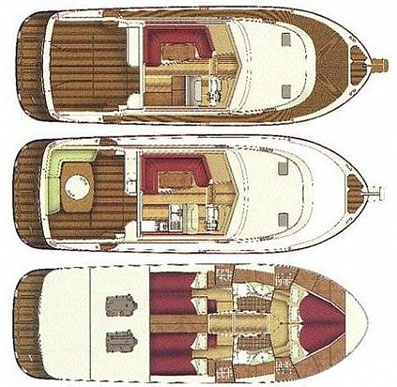 Adriana 44 ASTA Yachting Yachtcharter Motoryacht Motorboot Zadar,  Sukosan, Marina Dalmacija