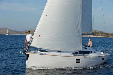 Elan 40 Impression Sunturist Yachting Yachtcharter Kroatien Sonderangebote Segelboote Segelyachten  Marina Tankerkomerc Zadar