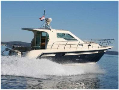 Vektor 950 ASTA Yachting Yachtcharter Motoryacht Motorboot Zadar,  Sukosan, Marina Dalmacija