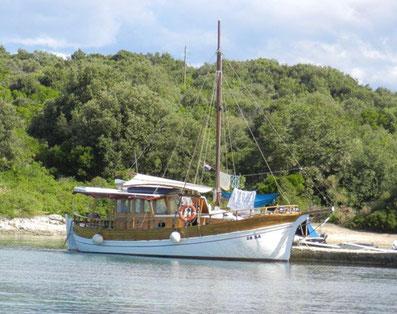 Yachtcharter Kroatien Sonderangebote Holzyacht Divna Zadar Sukosan Insel Dugi Otok