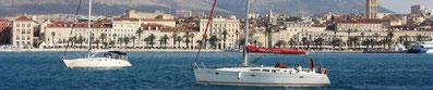 Orvas Yachting Yachtcharter Kroatien Sonderangebote Segelboote Segelyachten Katamarane  Marina Kastela Split