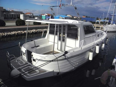 Adria 1002 Sunturist Yachting Yachtcharter Motoryacht Zadar,  Marina Tankerkomerc