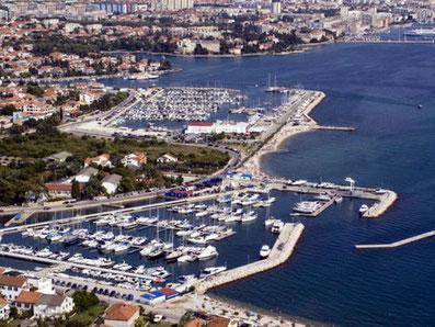 Zadar Borik Marina Vitrenjak Yachtcharter Sonderangebote Motorboote Motoryachten Segelboote Segelyachten