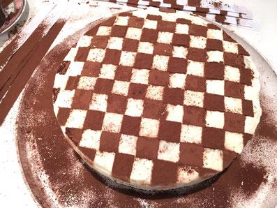 Nun hast du dein Schachbrett-Muster