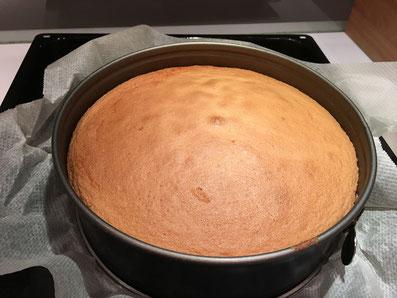 Im Ofen bei 180° 35-40 Minuten backen