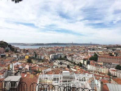Blick über Lissabon