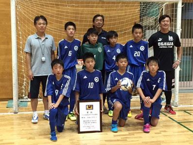 第25回バーモンドカップ東京都大会準優勝