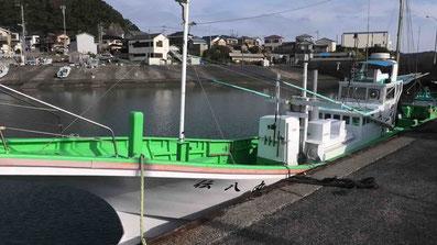 和田浦漁港 伝八丸