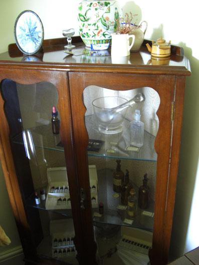バッチセンター内部 古い器具も