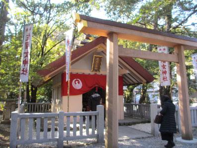 佐瑠女神社はあめのうずめのみことが御祭神