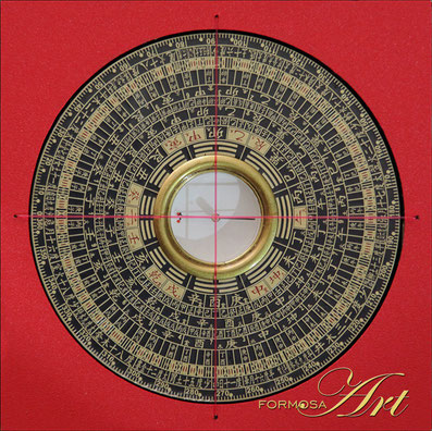 Feng Shui Compass Luopan SH-105 from FORMOSA Art