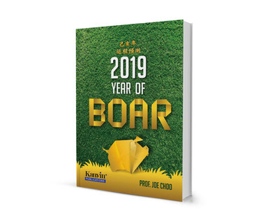 Prof Joe 2019 Year of Boar