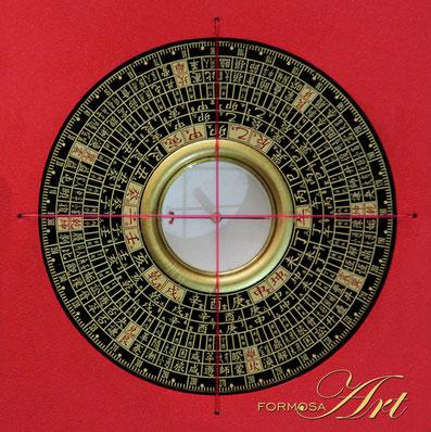 Feng Shui Compass Zong He Luopan ZH-085 from FORMOSA Art