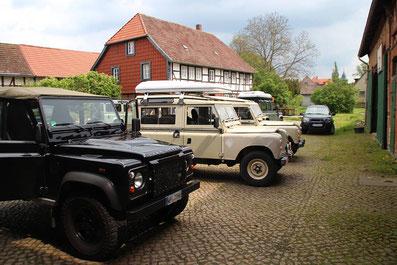 Land Rover treff
