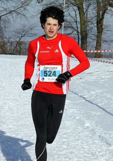 Philipp Stuckhard beim Baunataler Crosslauf