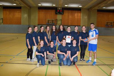 Siegermannschaft Mädchenbewerb: HLW Weiz