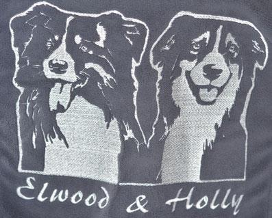 Kleidung mit eigenem Hund