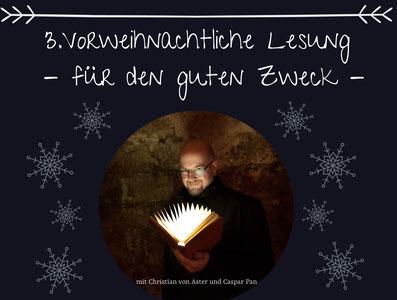 Christian von Aster Lesung Bestattungen Deufrains Eberswalde Finow Studntenclub