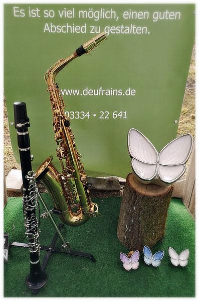 Bestattungshaus Deufrains Eberswalde musikalische Begleitung