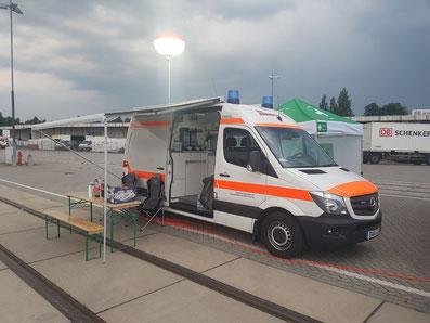 Versorgungswagen JUH Nordbrandenburg Eberswalde