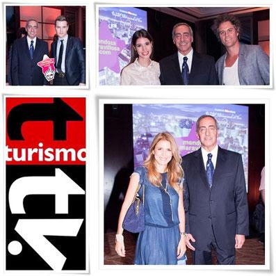 Víctor Fayad en Mendoza Maravillosa Turismo Tv, televisión turística