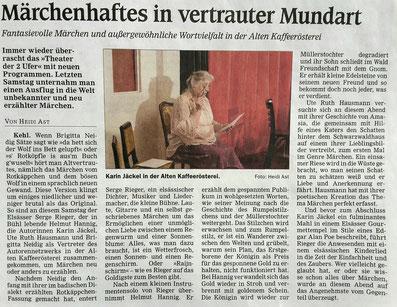 Mit freundlicher Genehmigung der Kehler Zeitung (Reiff)
