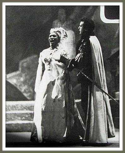 Manrico - IL TROVATORE - di Gi Verdi - con L. Price (New York 1961) -  Entrambi debuttanti al Metropolitan