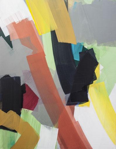 2013, Pigment, Acryl auf Leinwand, 125cm x 150cm