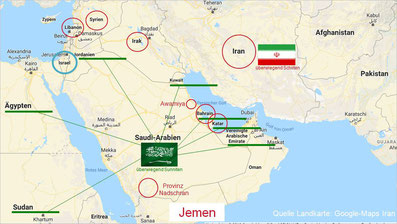 Der Iran und das Atomabkommen vs. USA, Israel, Saudi Arabien und Jemen