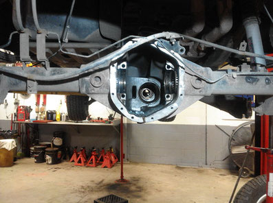 Rear differential for 2009 Nissan Titan