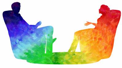 Eine Beschreibung, wie Therapie Dir zu mehr Wohlbefinden und Lebendigkeit hilft.