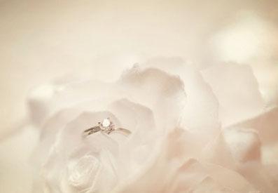 ダイヤモンドの婚約指輪 諫早 指輪