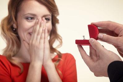 エンゲージリングでプロポーズ 諫早 指輪