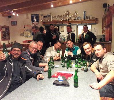 Unsere Vizebezirksmeister im Kärntnerstock feiern immer noch ... LINK
