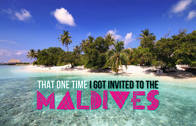 That One Time I Got Invited To The Maldives | JustOneWayTicket.com