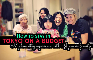 How to stay in Tokyo on a Budget - My Homestay Experience with a Japanese Family | JustOneWayTicket.com